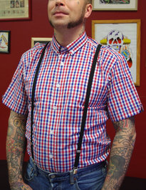 Vintage Button Down Shirt Fawkes